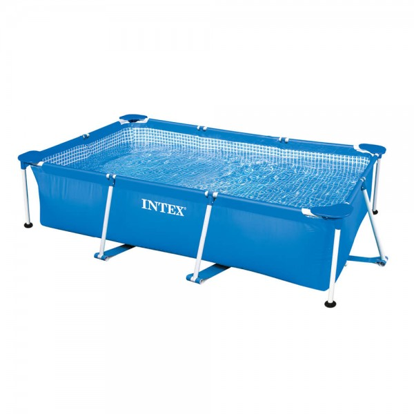 Intex Metal Frame Rechteck Swimming Pool - 260 x 160 x 65 cm - 28271NP