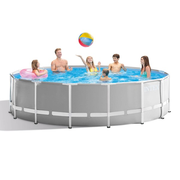 Intex Prism Frame Premium Rund Swimming Pool-Set - Ø 457 x 122 cm - 26726GN