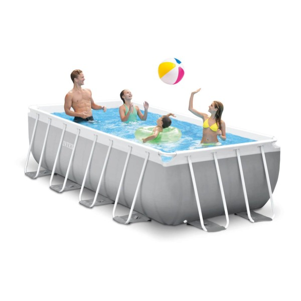 Intex Prism Frame Premium Rechteck Swimming Pool-Set - 400 x 200 x 100 cm - 26788GN
