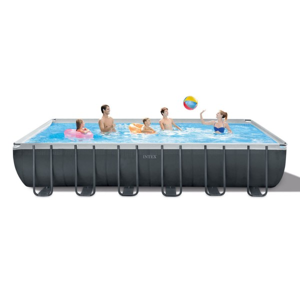 Intex Ultra Frame XTR Rechteck Swimming Pool-Set - 732 x 366 x 132 cm - 26364GN